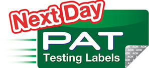 The PAT Testing Directory is owned and run by Next Day PAT Testing Labels
